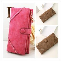 OEM Leather Purse Long Zip Wallet Card Bag 19x9x3cm - Intl