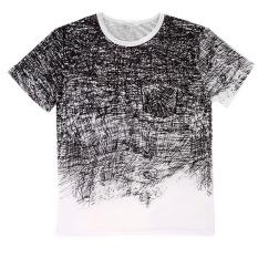OH Fashion Men's O-neck Short Sleeve Cotton T-shirt Shirt Short Sleeve Casual M - Intl