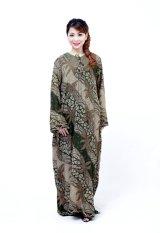Oktovina-HouseOfBatik Longdress Batik Paris - Chantique Batik LDPP-1 - Hijau