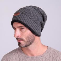 Ormano Topi Kupluk Wool Winter Hat Beanie s9377 - Grey