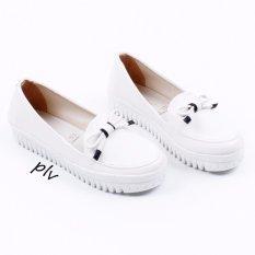 Own Works Sepatu Sneakers Slip On Wanita PKR01 - Putih