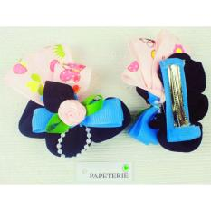 Papeterie - Sepasang Jepit Rambut Lucu JP 004 - Multicolor
