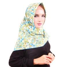 Parisku Jilbab Hijab Segiempat Katun Parisku Square Maiza Blue
