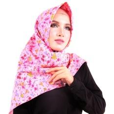 Parisku Jilbab Hijab Segiempat Katun Parisku Square Talitha Pink