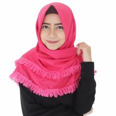 hijab pashmina instant katun premium amira fanta Parisku wanita September 2017 di Indonesia .