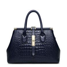 PASTE Brand Designer Women Handbag Luxury Tote Bag Alligator Grain Shoulder Bags Genuine Leather Handbags Fashion Crossbody Bags For Women High Quality - Intl
