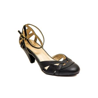 PASTELE - Evelyn Black Heels