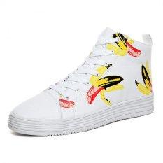PATHFINDER Men's Hight Cut Canvas Men Fashion Shoes (White) - Intl