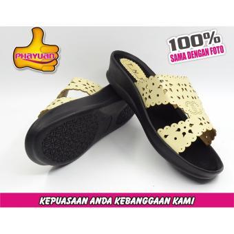 PHAYUAN Sandal Wanita J7 Cream
