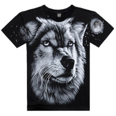 Printed Creative T Shirt 3D Men's T-shirt Summer Novelty 3D Psychedelic Tee Shirts Clothes - Intl