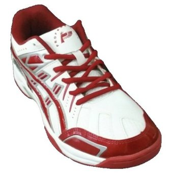Professional Sabre Volleyball shoes-Sepatu Bola voli-White/Red