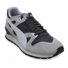 Puma Duplex Classic Running Shoes - Glacier Gray-Asphalt-Puma White