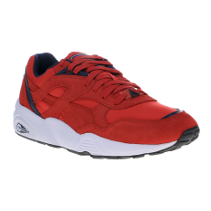 Puma R698 Core Running Shoes - Barbados Cherry-Peacoat-Puma White
