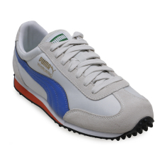 Puma Whirlwind Classic Running Shoes - Glacier Gray-Puma Royal