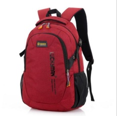 Qizhef ladies fashion travel outdoor mountaineering bag(red) - intl