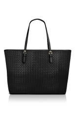 Quincy Bottega Tote Bag - Hitam