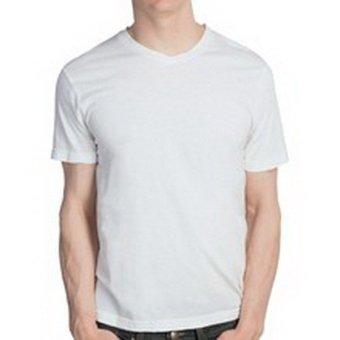 QuincyLabel Short Sleeve V neck - White