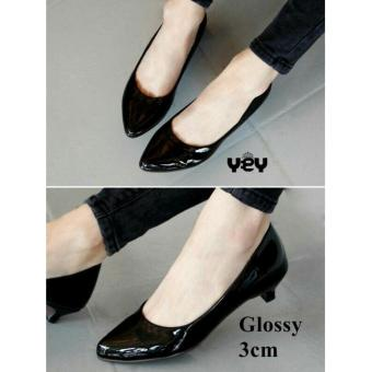 R2Paris Mini Heels Simply Dirly Hitam