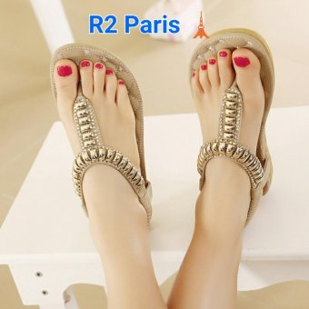 R2Paris Sandal Pilka Cream