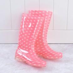 rain boot water shoes waterproof women - intl