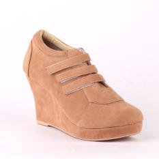 Raindoz Sepatu Wedges Cassia RRM 006 - Tan