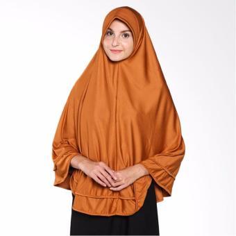 Harga Raniah Hijab Pita Lipat Bergo Syari Kubus Kuning Pricenia Com