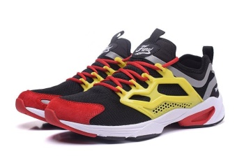 Reebok FURY ADAPT Running Shoes Light Comfortable Running Shoes Men's Cashion Shoes(Multicolor) - intl