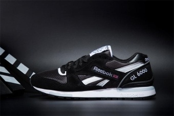 Reebok Mens Casual Shoes GL6000 Sports Shoes Running Shoes Reebok Classical Walking Shoes (black) - intl