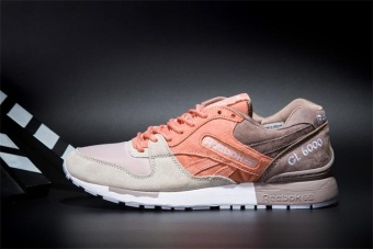 Reebok Mens Casual Shoes GL6000 Sports Shoes Running Shoes Reebok Classical Walking Shoes (orange grey tan) - intl