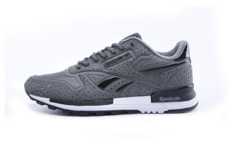 Reebok Mens Casual Shoes Sublite Super Duo Walking Shoes Men Reebok Ultra-light Breathable Running Shoes (grey) - intl