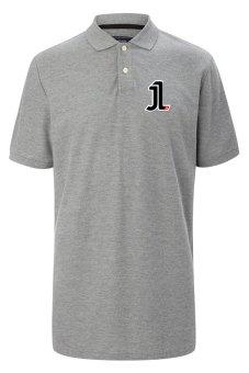 Rick's Clothing -Polo Shirt Jorge Lorenzo - Abu-Abu