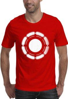 Rick's Clothing -Tshirt Ironman Logo - Merah