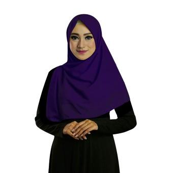 Ruman Hijab Jilbab Segiempat Ruman Square S (Navy)