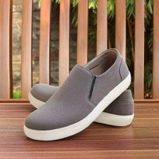 S. Van Decka RK09A Sepatu Kasual Pria - Abu-abu