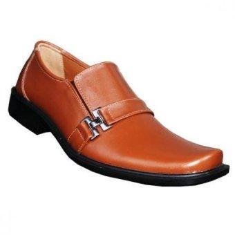 S. van Decka TK010XT Sepatu Formal Pria - Tan