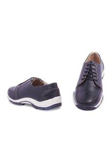 S. van Decka WR012 Sepatu Kasual Pria - Hitam