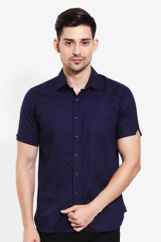 Salt n Pepper Mens Shirt SSP 149 1609 Navy