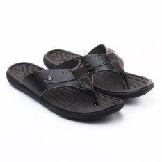 SALVO Sandal pria warna hitam