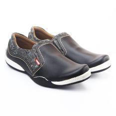Salvo Sepatu Pria Loafer Hitam