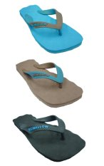 Sandal Swallow SPECTRUM Pria - Bundle 3 Pasang Biru-Coklat-Hitam