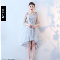 Saudara Korea Fashion Style Tipis Gaun Pengiring Pengantin Baru Gaun (Sebuah model) (Sebuah