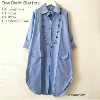 Save Denim Blue Long