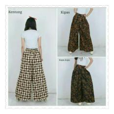 SB Collection Celana Kulot Rok Batik Samurai Kharisma Long Pant-Kupu2