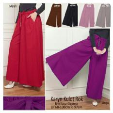 SB Collection Celana Panjang Karyn Kulot Rok-Pink
