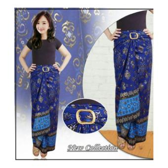 SB Collection Rok Lilit Konita Long Skirt-Biru