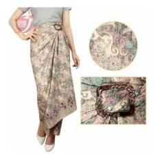 SB Collection Rok Maxi Lilit Erna Batik Long Skirt-Multicolor
