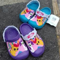 Sendal Crocs Anak - Little Pony (Biru)