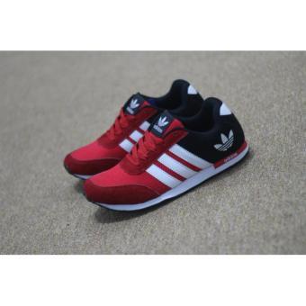 Sepatu Adidas Neo V Racer   Casual Sneaker Sporty Pria Wanita Olahraga  Jogging Santai Lari Runner b23203f544