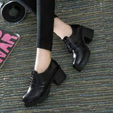 Sepatu Boot Docmart Wanita Style Hitam