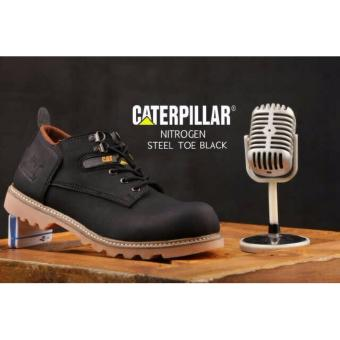 Sepatu Caterpillar Nitrogen Safety Black